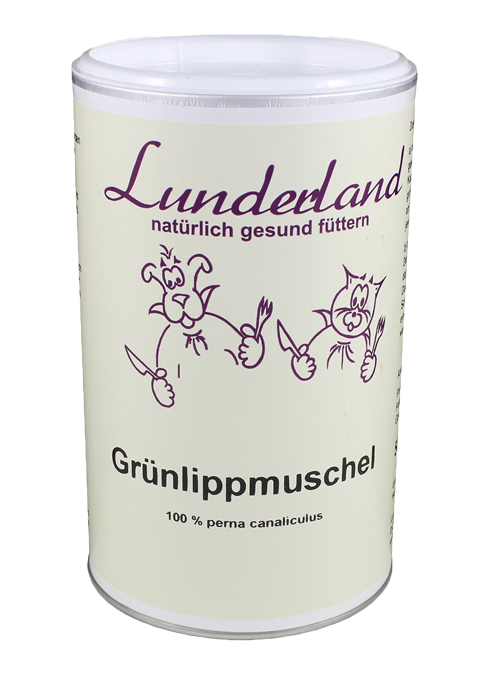 Zöldkagylópor, 500 g, Lunderland