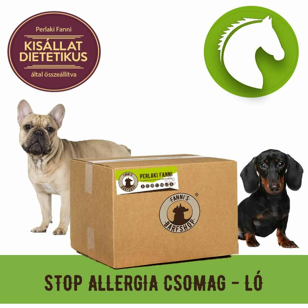 STOP allergia húscsomag lóhúsból, 8 kg