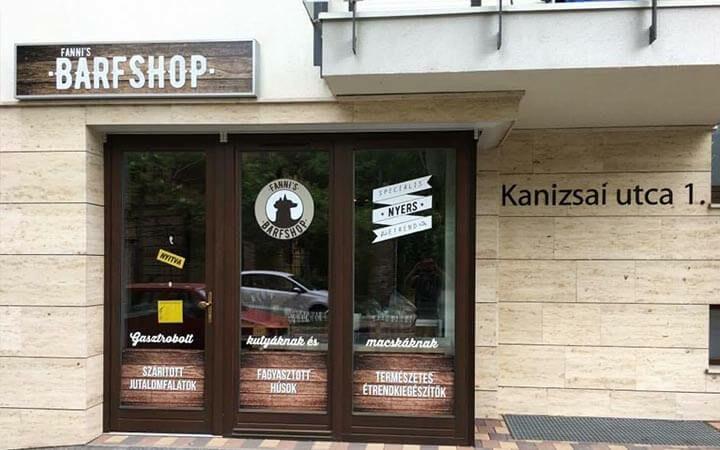 Fanni's Barfshop - Kanizsai utca 1.