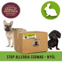 STOP allergia húscsomag nyúlból, 8,5 kg