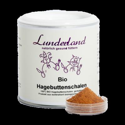 Csipkebogyópor BIO, Lunderland 150 g