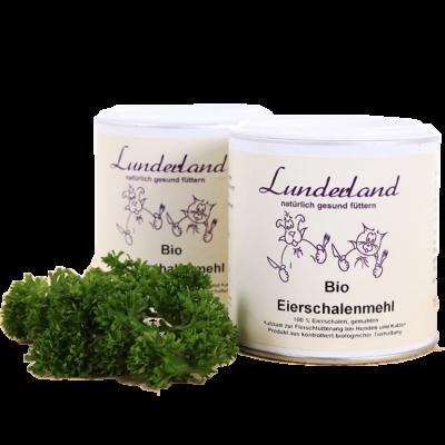 Tojáshéjpor BIO, Lunderland, 400 g