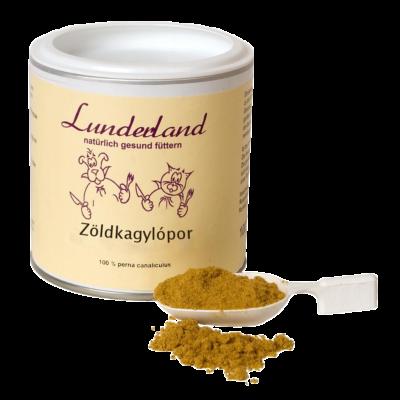 Zöldkagylópor, Lunderland, 250g
