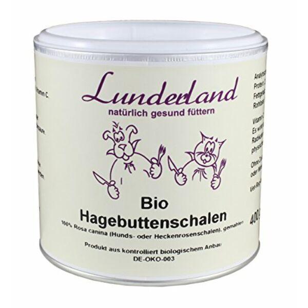 Csipkebogyópor, BIO, 400 g, Lunderland