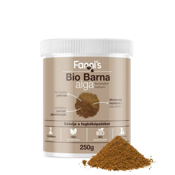 Bio Barna alga kutyáknak, 250 g, Fanni's