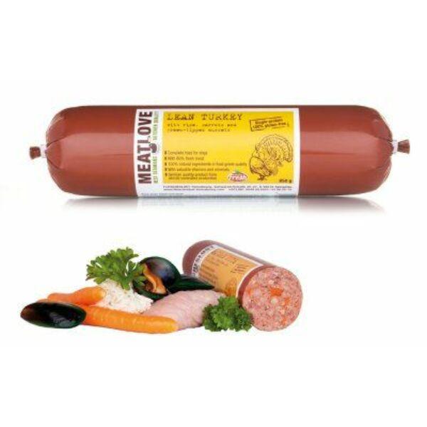 Tiszta pulyka zöldkagylóval, 400g, Meatlove