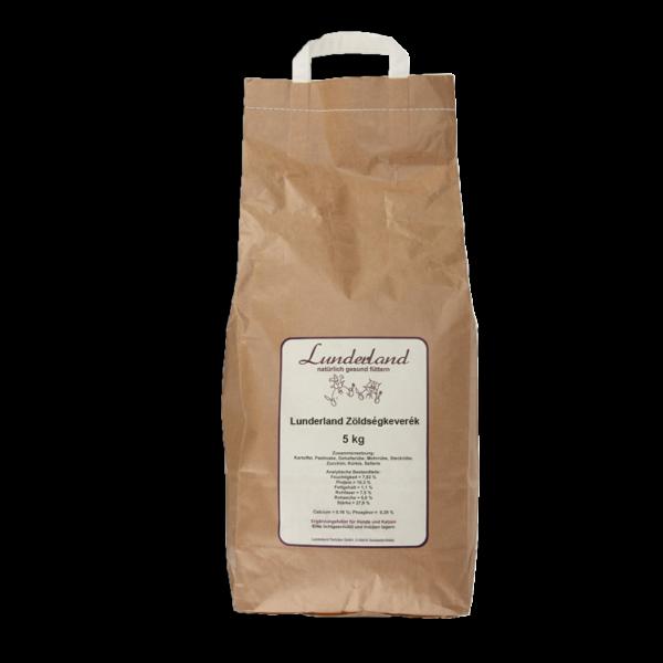 Zöldségkeverék, 5 kg, Lunderland