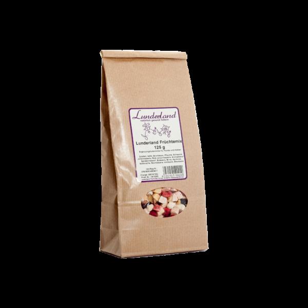 Gyümölcskeverék, 125 g, Lunderland