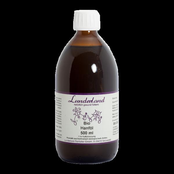 Kendermagolaj, BIO, 500 ml, Lunderland