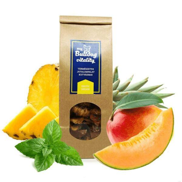 Ananász,sárgadinnye, mangó, menta jutalomfalat, Mybulldogshop 125g