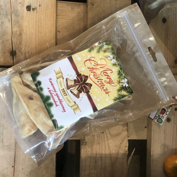 Szárított bárányfül, szőr nélkül, karácsonyi csomagolásban, Teomann, 125 g