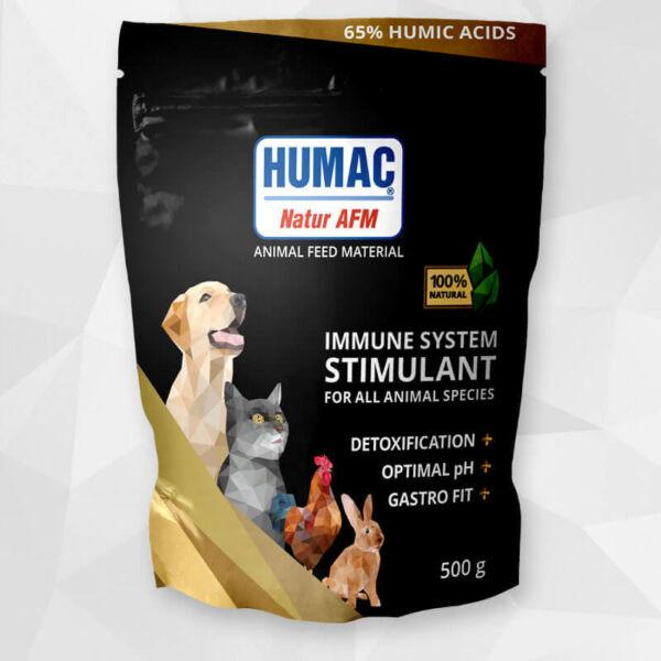Humac Natur AFM huminsav por, 500g, HUMAC Hungary