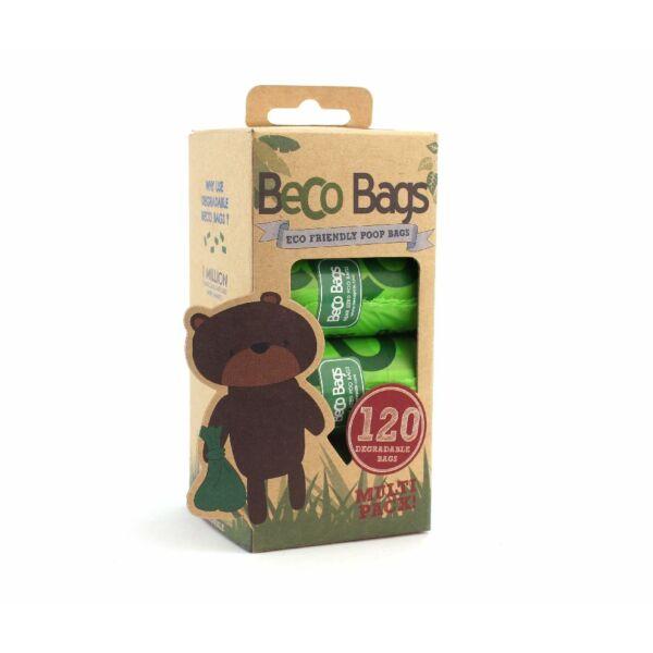 Lebomló kutyaürülék zacskó, 120 db, Medium csomag, Beco Pet's