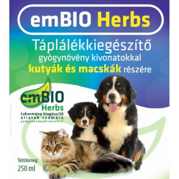 EMBIO élőflóra tartalmú, gyógynövényes étrendkiegészitő