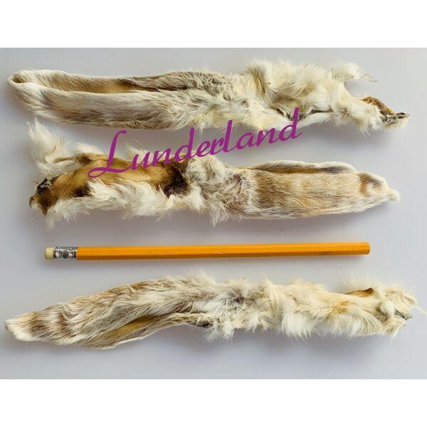 Szárított nyúlfülek, szőrös, 100g, Lunderland