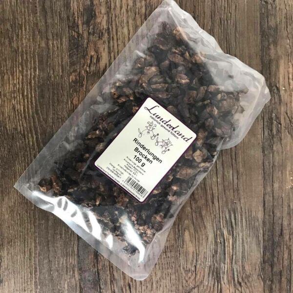 Szárított marhatüdő tréningre, 100 g, Lunderland