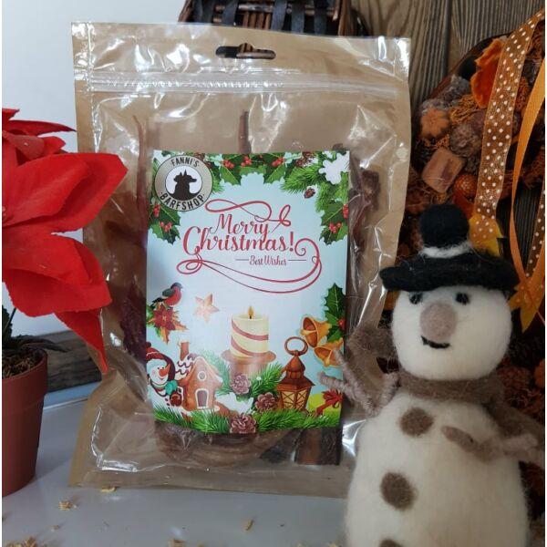 Szárított szarvasín, karácsonyi csomagolásban, 125g, Teomann